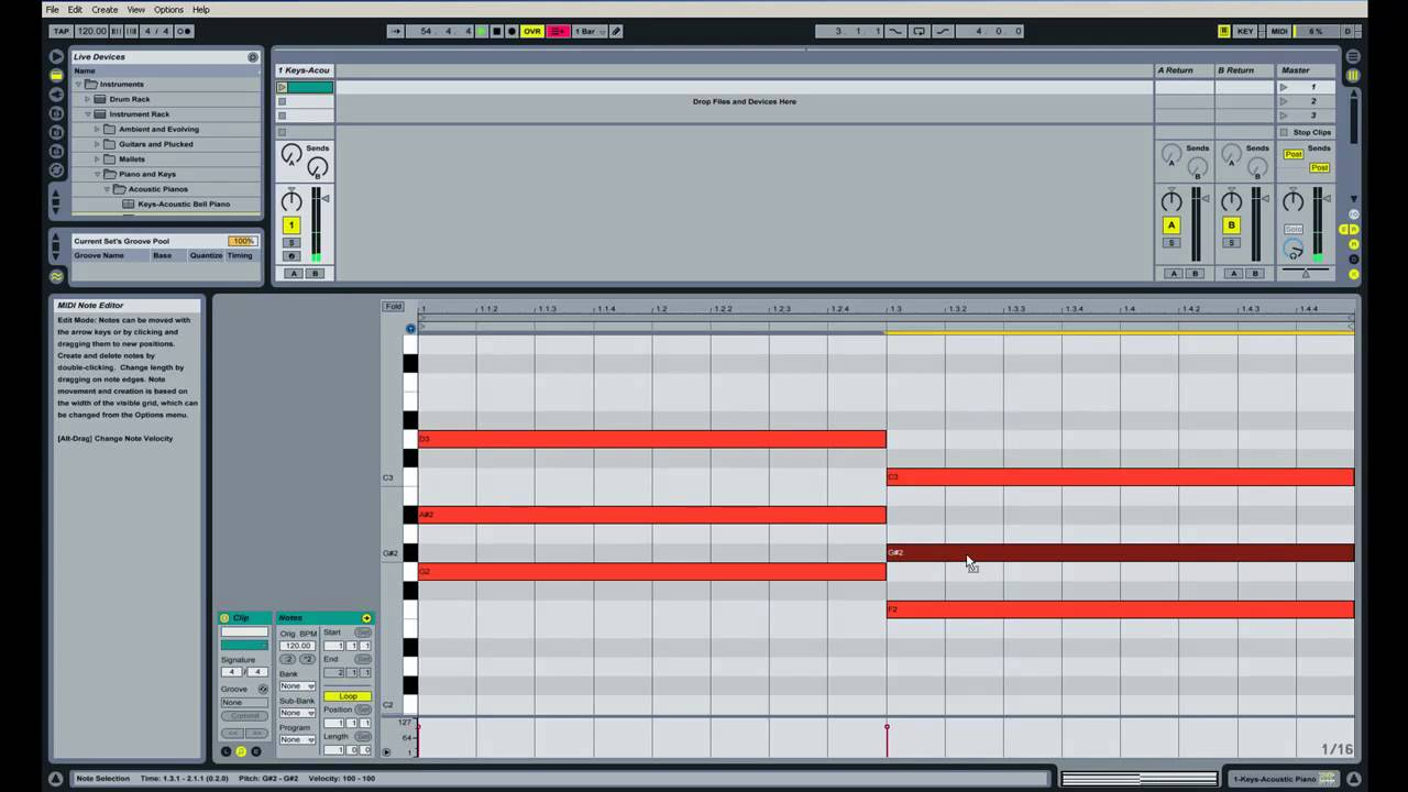 Basic Chord And Scale Theory Through Ableton Live (Part 1) - YouTube