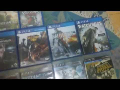 PS3, PS4 & PS VITA (retail) collection August 2014