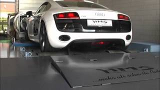 Audi R8 V10 FSI Soundfile Pr�fstand videos