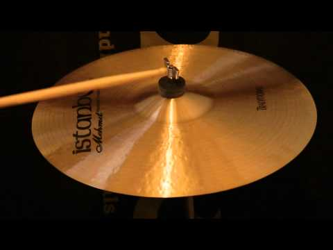 "Istanbul Traditional 16"" Thin Crash Cymbal"