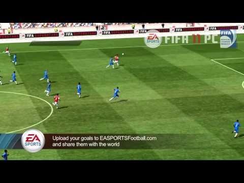 Видео игрового процесса FIFA 11 PC