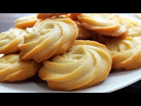 MELTING MOMENTS Cookies Recipe ♥ Eggless Butter #Cookies ♥ Really Melt In Your Mouth ♥ Tasty Cooking