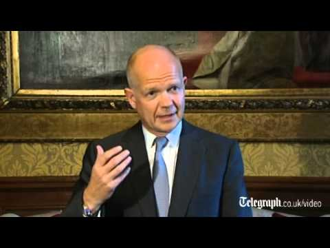 Hague: time for UNSC to act on Syria