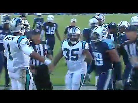 Cam Newton Pisses Off Opponents with Touchdown Dance