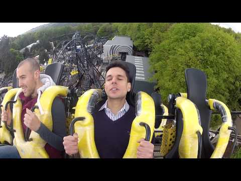 Express reporter Nathan Rao rides Alton Tower's newest roller coaster The Smiler.