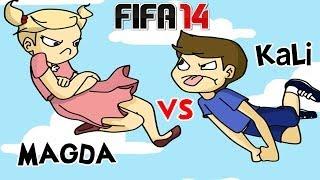 KALI VS SIOSTRA! FIFA 14