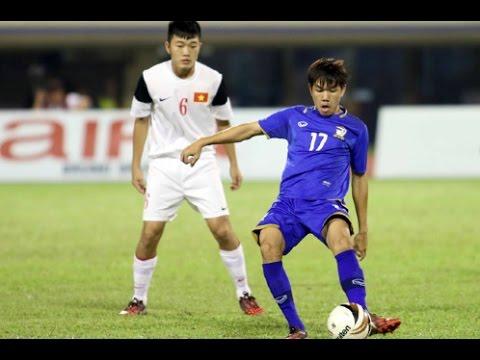 Lương Xuân Trường vs U19 Thailand (U19 VietNam - U19 Thailand [1-0])