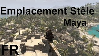 Assassin's Creed 4 Black Flag Emplacement Stèle Maya