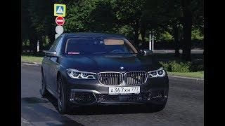 DT Test Drive — BMW M760Li vs Audi S8 Plus vs Mercedes S63 AMG. DragTimes info video - Драгтаймс инфо видео.