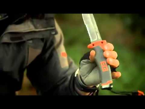 Gerber SECOND -  Bear Grylls Ultimate Fixed Knife (Serrated blade)
