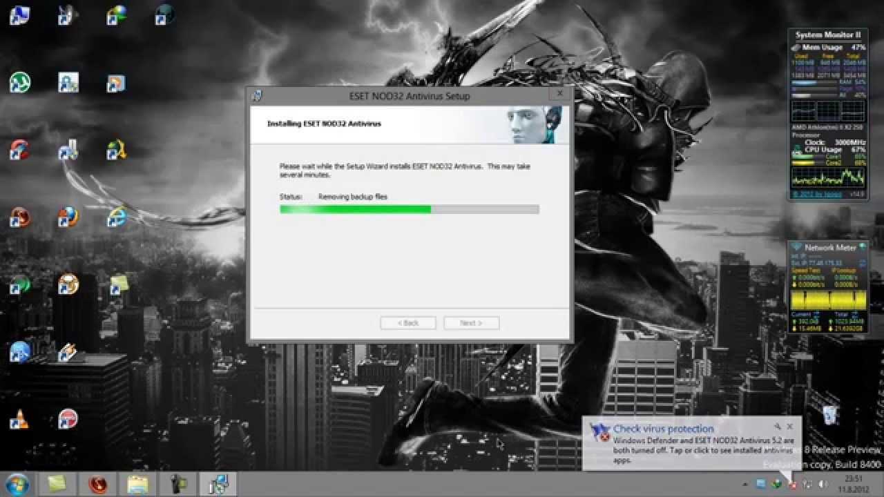 descargar nod32 gratis en espanol para windows 7