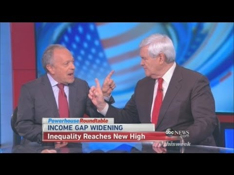 Newt Gingrich: Democrats Are Responsible For Poverty