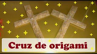 CRUZ MODULAR DE ORIGAMI