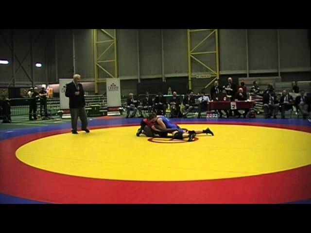 2014 Junior National Championships: 63 kg Final Temitope Ogunjimi vs. Krystin Paquette