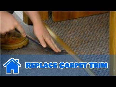 Trim Amp Molding How To Replace Carpet Trim Youtube