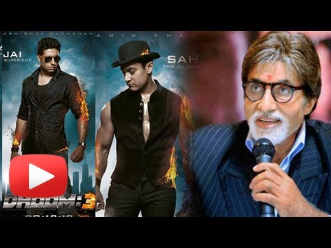 Amitabh Bachchan Says AWESOME After Watching Dhoom 3 Trailer
