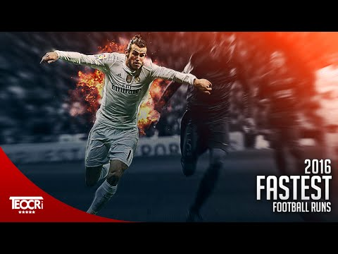 Craziest & Fastest Football Runs 2016 |HD|