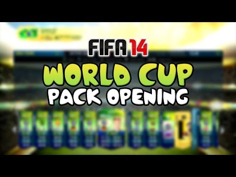 FIFA 14 WORLD CUP PACK OPENING!!! - FIFA 14 Ultimate Team