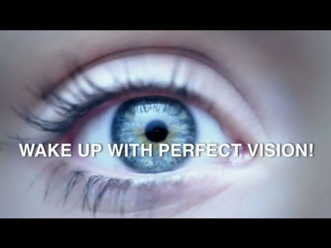 NEW Overnight Contact Lenses for Short Sightedness