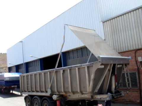 Toldos brazos ba eras camiones youtube for Toldos para camiones