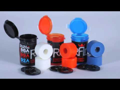 R.A.D. - Premium Skateboard Bushings & Washers