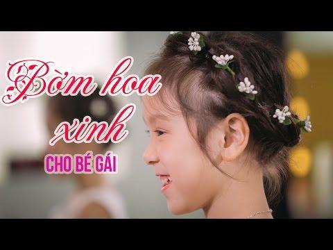 Kiểu tóc xinh cho bé:  Bờm hoa xinh làm điệu cho bé gái [Changmi]