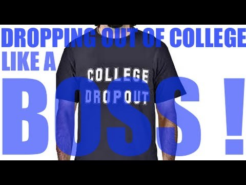 Dropping Out Of College Like A BOSS  | The Hustlers MindSet | Glendon Cameron