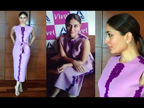 Kareena Kapoor Hot At Vivel Press Meet