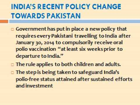 INDIA -- A POLIO FREE NATION