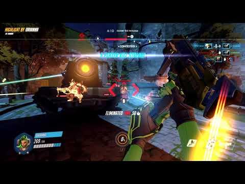 Overwatch Sombra play highlight 8