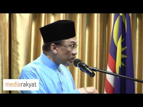 Anwar Ibrahim: Issues Concerning The Keadilan Party Election