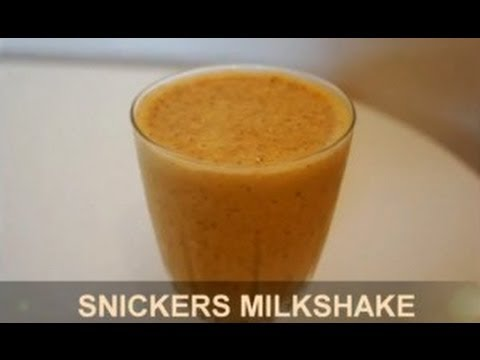 How to make SNICKERS MILKSHAKE