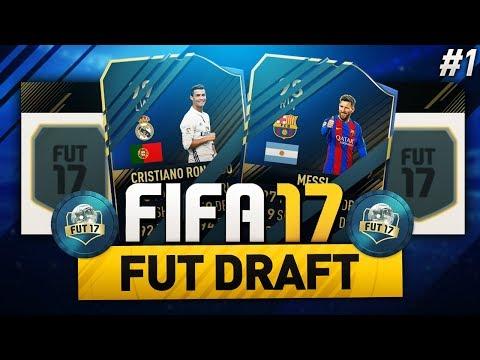 FIFA 17 - FUT DRAFT | 1. rész - NCM a legjobb trió!