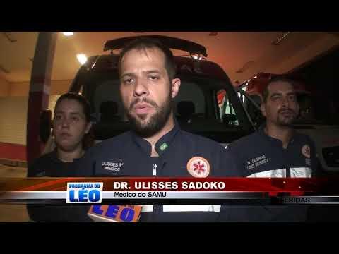 06/05/2019 - Colisão lateral entre carro e carreta deixa duas pessoas feridas na Rodovia Assis em Barretos