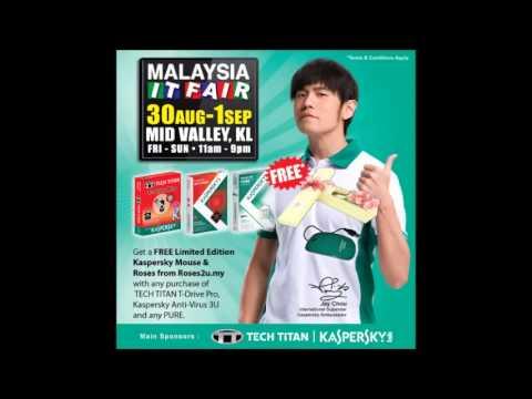 Malaysia IT Fair @ Kuala Lumpur Mid Valley (Radio commercial in Malay)