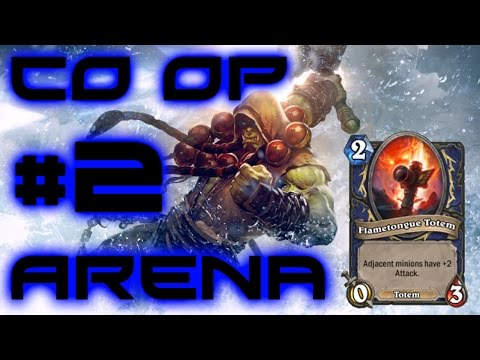 Hearthstone GVG Coop Arena - Shaman #2