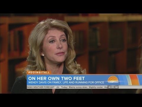 Wendy Davis on Today show
