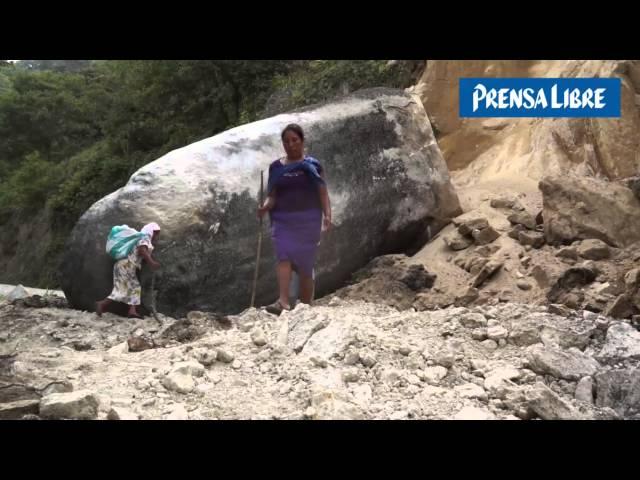 Sibinal el municipio más golpeado por el sismo en San Marcos