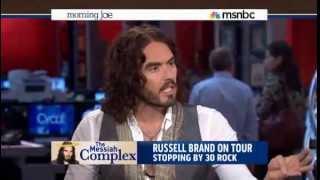 Russell Brand Hijacks MSNBC Morning Joe