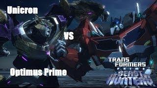 TFP: Predacons Rising Unicron Vs Optimus Prime