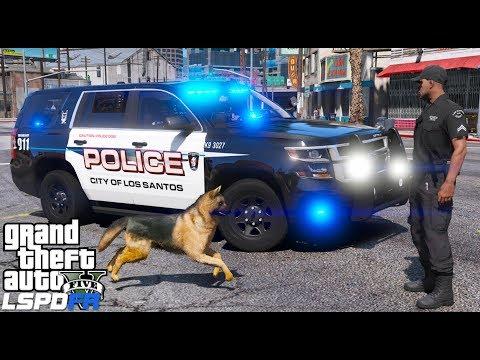 GTA 5 LSPDFR #569 | Los Santos Police K9 Unit Patrol | Live Stream