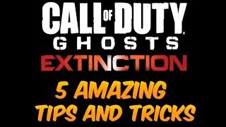 Call Of Duty Ghost Extinction 5 Great Tips And Tricks