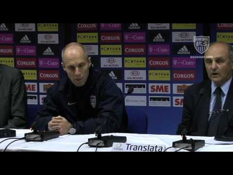 MNT vs. Slovakia: Postgame Press Conference - Nov. 14, 2009