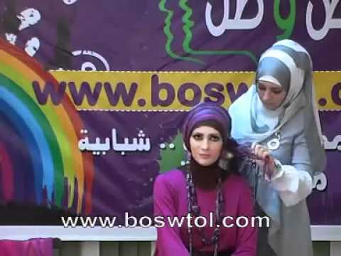 How to wear pashmina hijab tutorial with Jailan Atif -2