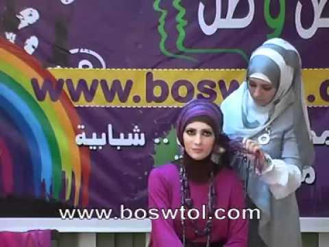 How to wear pashmina hijab tutorial with Jailan Atif -2
