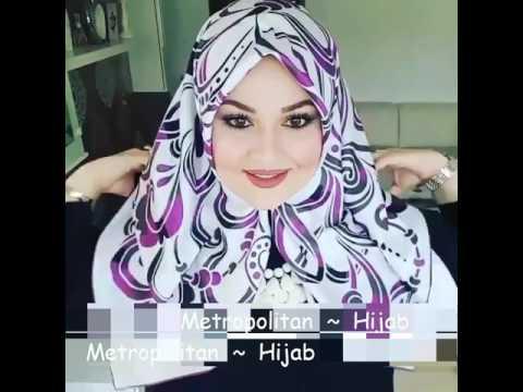 Cara Memakai Jilbab Untuk Wajah Bulat  # 19
