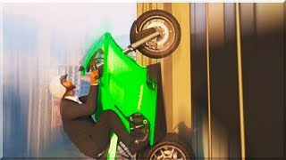 GTA 5 Funny Moments DRIVING UP BUILDINGS (GTA V Online