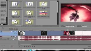 Tutorial Basico Para Usar Vegas Movie Studio HD 10