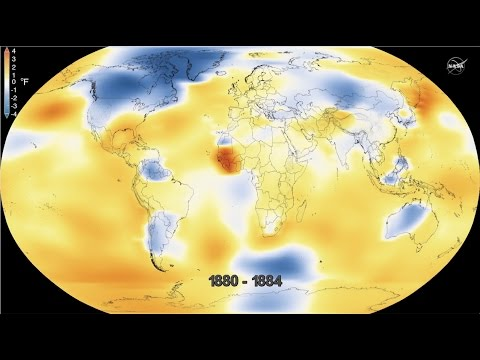 NASA Analysis Global Temperatures