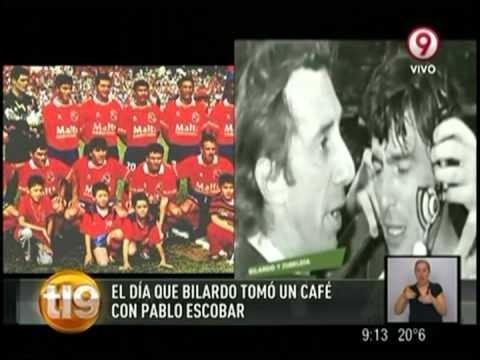 El día en que Bilardo tomó un café con Pablo Escobar